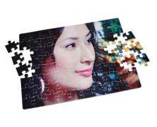 Potlač na puzzle