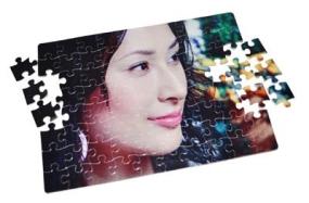 farebna potlač na puzzle