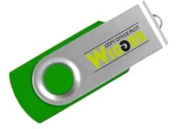 USB s potlacou logo firmy