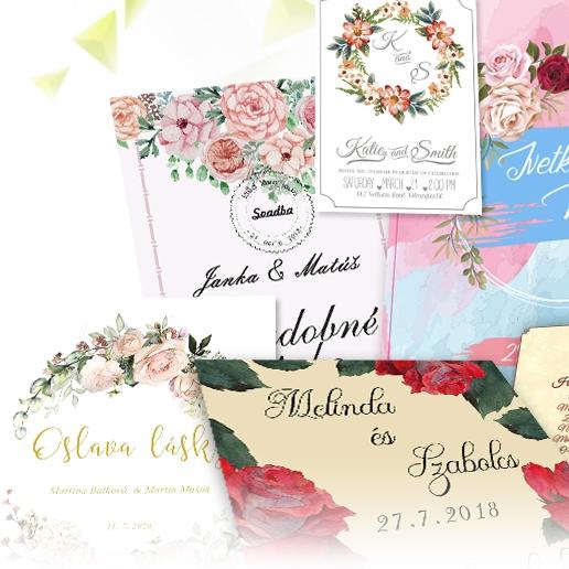 tlac oznamenie na svadbu